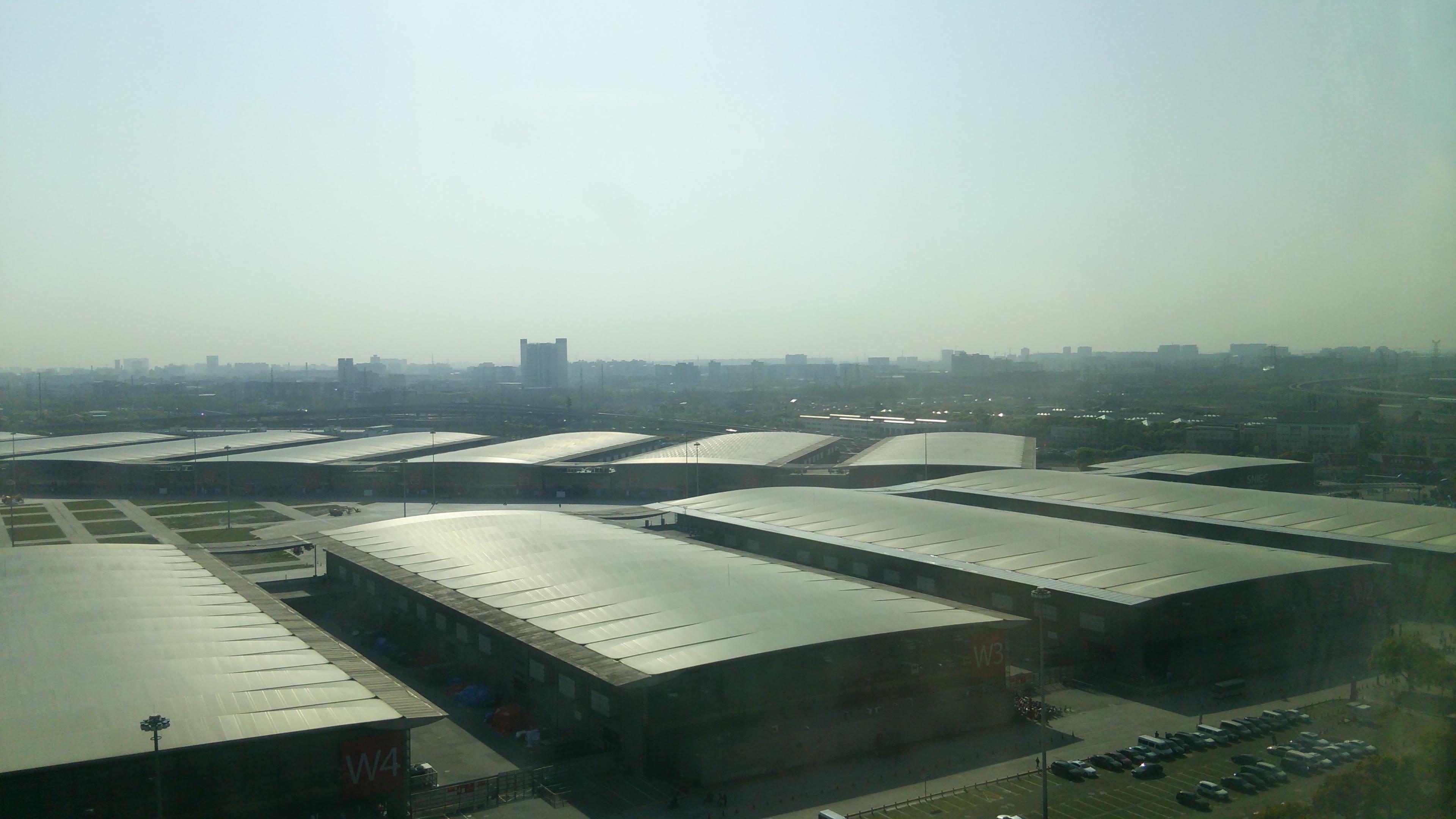 上海新国際展示会場